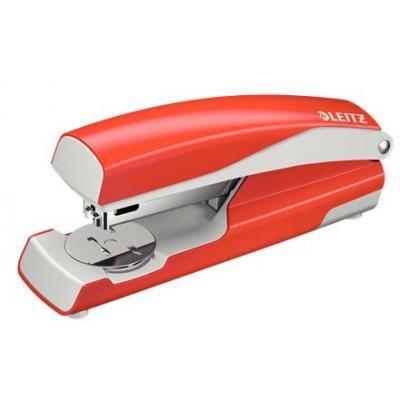 Leitz nietmachine: NeXXt 5502 - Rood, Zilver