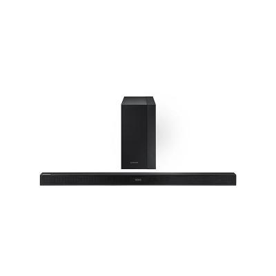Samsung soundbar speaker: Soundbar, Wireless Subwoofer, 2.1, 300W, Bluetooth - Zwart
