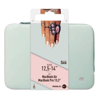 Mobilis Skin Sleeve 12.5-14'' Pearl grey/Powder pink Laptoptas