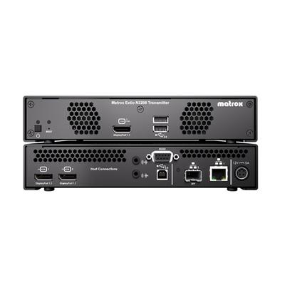 Matrox Extio 3 N3208 IP KVM Extender Transmitter Appliance / XTO3-N3208TX