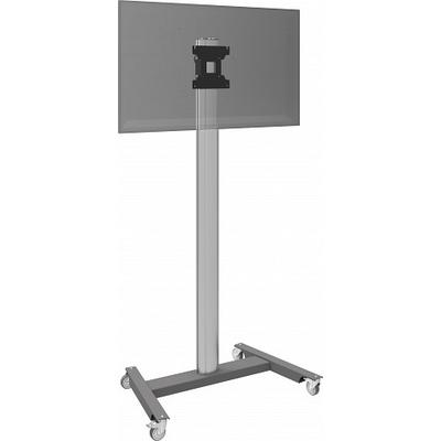 SmartMetals Stand on wheels (light) incl. bracket max. VESA 200 TV standaard - Aluminium, Grijs