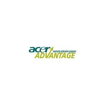 Acer garantie: Advantage 3 Years On-Site, Exchange TFT, Next Business Day (NBD), No Booklet
