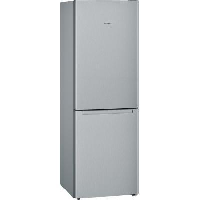 Siemens koelkast-vriezer: KG33NNL31 - Zilver