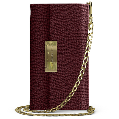 IDeal of Sweden Kensington Clutch iPhone 11 - Rood - Rood / Red Mobile phone case