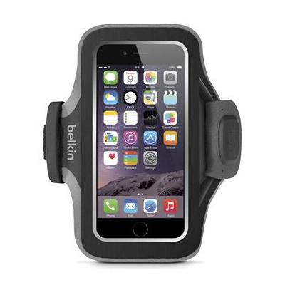 Belkin mobile phone case: Sport-Fit-armband voor iPhone 6 - Zwart