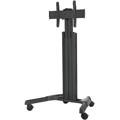 Chief Medium FUSION Manual Height Adjustable Mobile Cart Multimedia kar & stand - Zwart