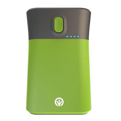 Ifrogz iGoLite Traveler Portable Charger and Flashlight, 9000mAh, Green Powerbank - Groen, Grijs