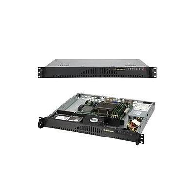 Supermicro A+ Server 1012A-MRF Server barebone - Zwart