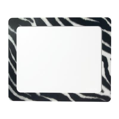LogiLink ID0168 Muismat - Zwart, Transparant, Wit