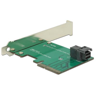 DeLOCK 89458 Interfaceadapter - Zwart, Groen, Zilver