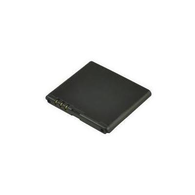 2-power batterij: Mobile phone, Lithium ion, 3.7 V, 900 mAh, 50 g - Zwart