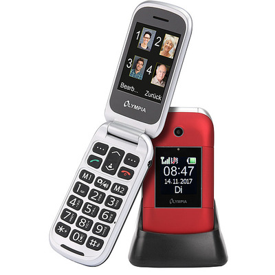 Olympia Janus Mobiele telefoon - Rood