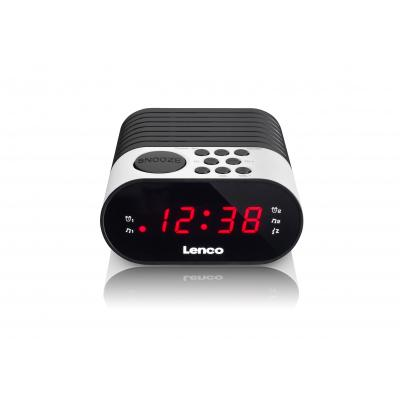 Lenco radio: CR-07 - Zwart, Wit