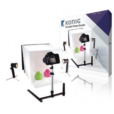 König hardware: Konig, Mini Fotostudio Opvouwbaar 40 x 40 x 40 cm