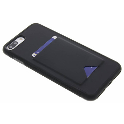 Cardslot Backcover iPhone 8 Plus / 7 Plus - Zwart / Black Mobile phone case