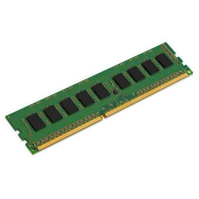Kingston technology RAM-geheugen: ValueRAM 4GB DDR3 1600 MHz - Zwart, Groen