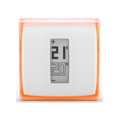 Netatmo thermostaat: NTH01 - Oranje, Wit