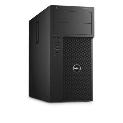Dell pc: Precision T3620 - Xeon E3 - 16GB RAM - 256GB - Zwart