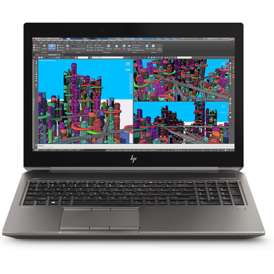 HP ZBook 15 G5 Laptop - Zwart, Zilver