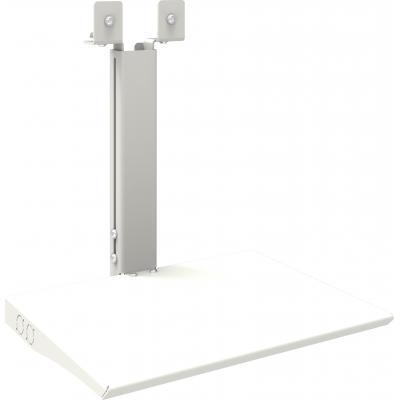 SmartMetals Business & VC trolley + VideoWall 2x2 laptopsteun Muur & plafond bevestigings accessoire - Wit