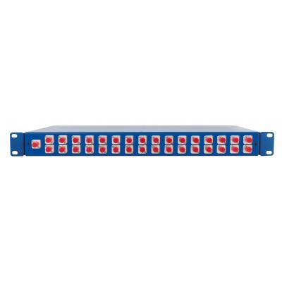 Spaun SOV 19 1/32 FC/PC Fiber optic adapter - Blauw