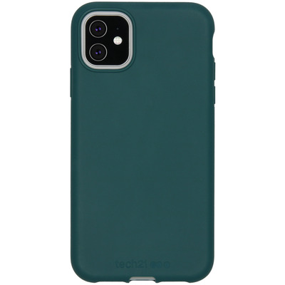 Antimicrobial Backcover iPhone 11 - Pine - Groen / Green Mobile phone case