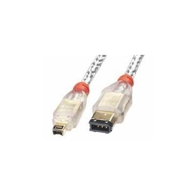 Lindy fireware kabel: Premium FireWire Cable 6/4, 1m
