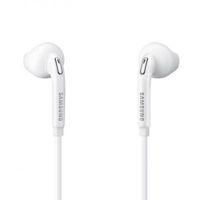 Samsung White Galaxy S6 Edge Headset