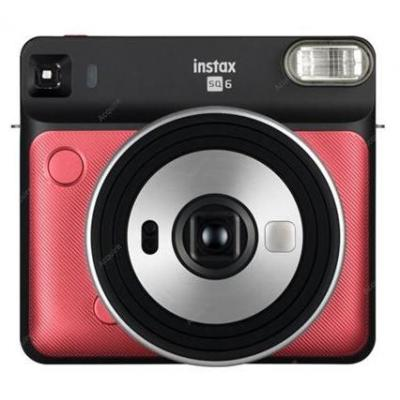 Fujifilm Instax SQ6 Direct klaar camera - Zwart, Rood