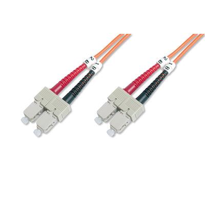 ASSMANN Electronic DK-2522-30 Fiber optic kabel - Oranje