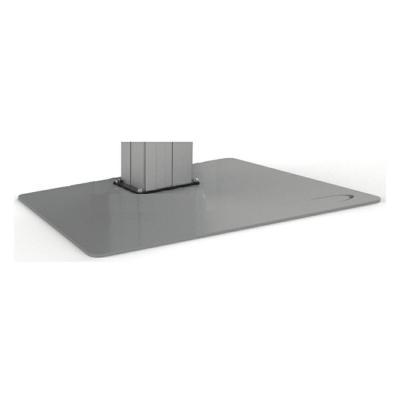 ErgoXS Vloerplaat XL voor EBT4100 XL Muur & plafond bevestigings accessoire - Grijs