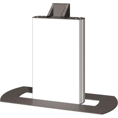 "SmartMetals 40 - 42"", 65 kg, 2x 25 mm Ø TV standaard - Aluminium, Grijs, Wit"