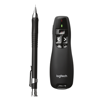 Logitech Wireless Presenter R400 Media presenter - Zwart