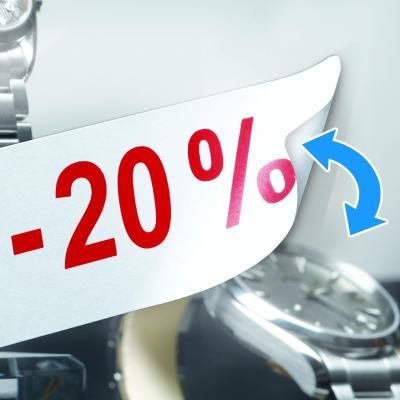 Herma etiket: Removable labels A4 96x63.5 mm white Movables/removable paper matt 800 pcs. - Wit