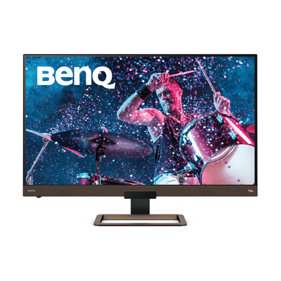 Benq EW3280U Monitor - Zwart, Bruin