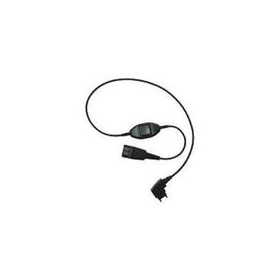 Jabra Adaptor cord QD/PTT Telefoon kabel - Zwart