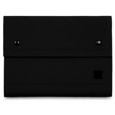 "Knomo organixer: 2-fold organiser, 10"" tablet section, Smartphone & battery compartments, Pen holder, Black - Zwart"