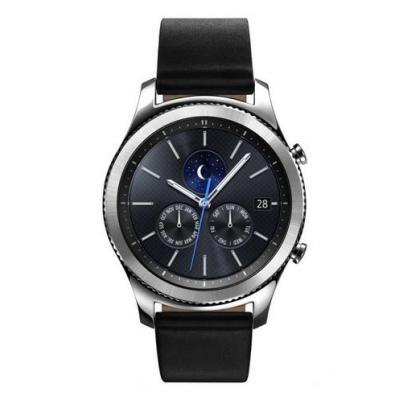 Samsung smartwatch: Gear S3 Classic - Zwart, Zilver