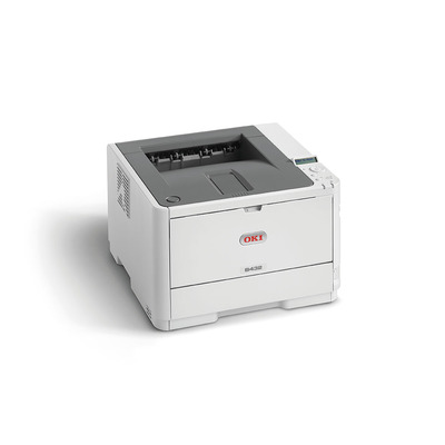 OKI laserprinter: B432dn - Zwart