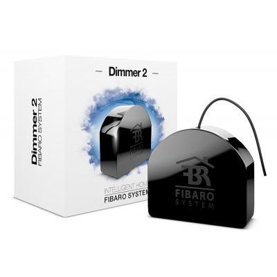 Fibaro dimmer: Dimmer 2 - Zwart