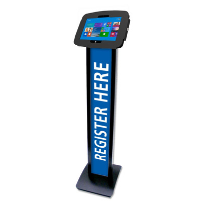 Compulocks Space BrandMe Multimedia kar & stand - Zwart