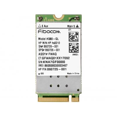 Hp netwerkkaart: hs3210 HSPA+ mobiele module