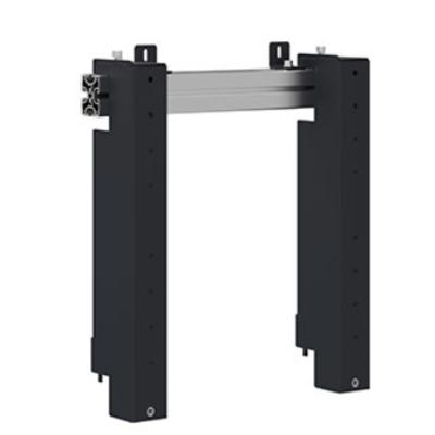 """AG Neovo 42-65"""", Max 80 kg, VESA 400 x 400 mm, 500 x 526 x 93 mm TV standaard - Aluminium, Zwart"""