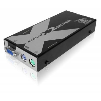 Adder console extender: ADDERLink X2-Silver - Zwart