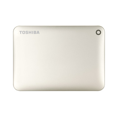 Toshiba Canvio Connect II 1TB Externe harde schijf - Goud