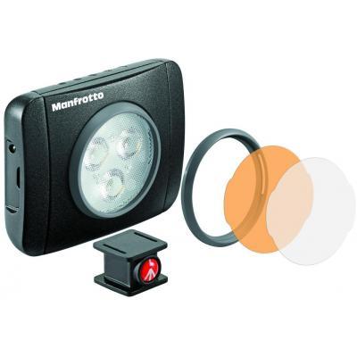 Manfrotto 5600K, 0.074kg, black Camera flitser - Zwart