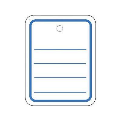 Herma label: Productlabel 35x45mm zonder draad 1000 St. - Blauw, Wit