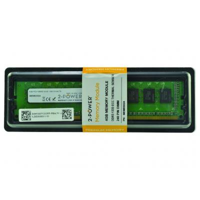 2-power RAM-geheugen: 4GB DDR3L 1333MHz ECC + TS UDIMM Memory - replaces KVR1333D3E9S/4G