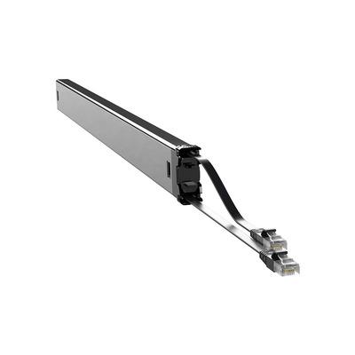 PATCHBOX Plus+ Cat.6 Cassette, 50mm x 690mm x 50mm, 0.4kg - Zwart,Zilver