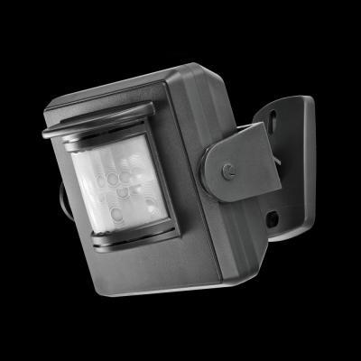 Klikaanklikuit bewegingssensor: IP64, 20-110°, 30m binnenshuis, 70m open veld, 2x1.5V AAA, Grijs